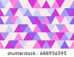 colored abstraction in retro... | Shutterstock . vector #688956595