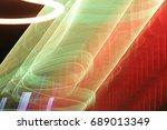 lighting effect  multicolored... | Shutterstock . vector #689013349