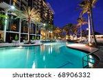 A Resort Swimming Pool At...