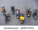 bangkok  thailand   july 22 ...   Shutterstock . vector #689073451