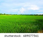 fields and skies | Shutterstock . vector #689077561