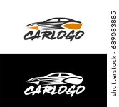 car logo for your automotive... | Shutterstock .eps vector #689083885