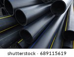 Large Black Plastic Pipes For...