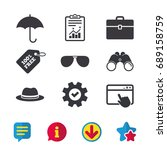 clothing accessories icons....