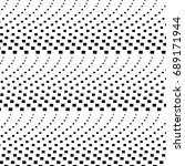abstract halftone pattern.... | Shutterstock .eps vector #689171944