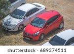turkey  alanya  konakli   cars...   Shutterstock . vector #689274511