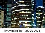 modern office buildings in the...   Shutterstock . vector #689281435