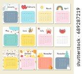 Unusual Cute Calendar For 2018...