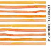 watercolor hand painted stripy... | Shutterstock . vector #689306065