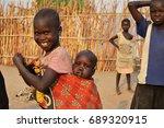 juba  south sudan  february... | Shutterstock . vector #689320915