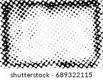 halftone dots texture... | Shutterstock .eps vector #689322115