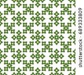 seamless pattern. modern... | Shutterstock . vector #689333809