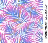 palms. palm pattern.   Shutterstock .eps vector #689356069