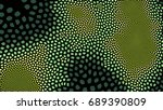 abstract colored background of... | Shutterstock . vector #689390809