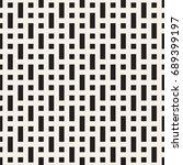 vector seamless pattern. modern ...   Shutterstock .eps vector #689399197