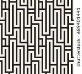 seamless vector pattern.... | Shutterstock .eps vector #689401441