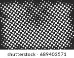 halftone dots texture... | Shutterstock .eps vector #689403571