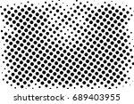 halftone dots texture... | Shutterstock .eps vector #689403955