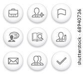 icon with white button 1   Shutterstock .eps vector #68940736