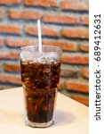 glass of soda water | Shutterstock . vector #689412631