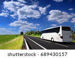 bus on the road   Shutterstock . vector #689430157