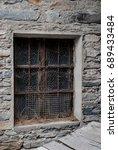 old wooden window   Shutterstock . vector #689433484