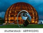 geneva  switzerland   june 8 ... | Shutterstock . vector #689441041