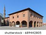 historical haci bayram mosque...   Shutterstock . vector #689442805