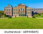 exterior of kensington palace... | Shutterstock . vector #689448691