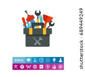 Plumber Tools Kit Vector Icon