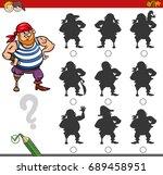 cartoon vector illustration of... | Shutterstock .eps vector #689458951