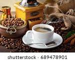 coffee | Shutterstock . vector #689478901