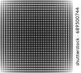 geometric black and white... | Shutterstock . vector #689500744