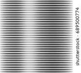 geometric black and white... | Shutterstock . vector #689500774