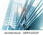 architecture details modern... | Shutterstock . vector #689510329