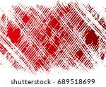 halftone dots texture... | Shutterstock .eps vector #689518699