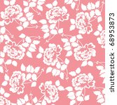 beautiful pattern with rose... | Shutterstock .eps vector #68953873