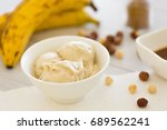 nicecream   ice cream made of... | Shutterstock . vector #689562241