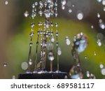 water fountain  | Shutterstock . vector #689581117