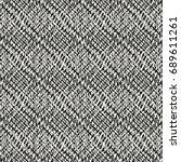 abstract mottled geometric... | Shutterstock .eps vector #689611261