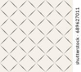 vector seamless pattern. modern ... | Shutterstock .eps vector #689627011