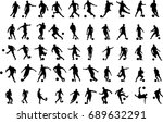 very high quality detailed set... | Shutterstock .eps vector #689632291