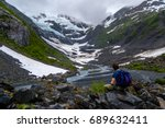 View Of Byron Glacier And Byron ...