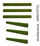 3d rendering of buxus... | Shutterstock . vector #689670721
