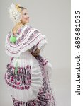 "the ""pollera"" from panama.... 