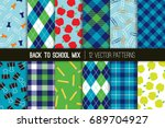 Back To School Vector Patterns...