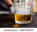 close up detail of the bottom... | Shutterstock . vector #689708425