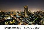 bangkok cityscape | Shutterstock . vector #689722159