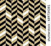 seamless chevron pattern.... | Shutterstock . vector #689734381