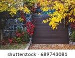 Autumn City Landscape. Multi...